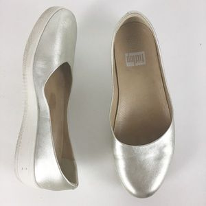 FitFlop  Superballerina  Leather Ballet Flats